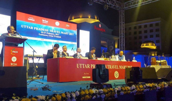 Inauguration-of-the-Uttar-Pradesh-Travel-Mart-2017-at-Ramada-Lucknow