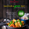 Thursdays Offer – The Biggest & Best Vegetarian Buffet in Lucknow