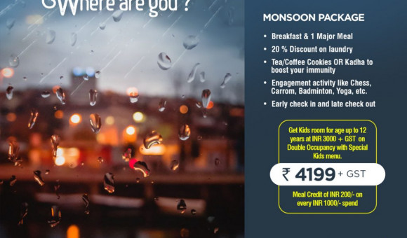The Perfect Monsoon Room Package in Lucknow for Families 2020