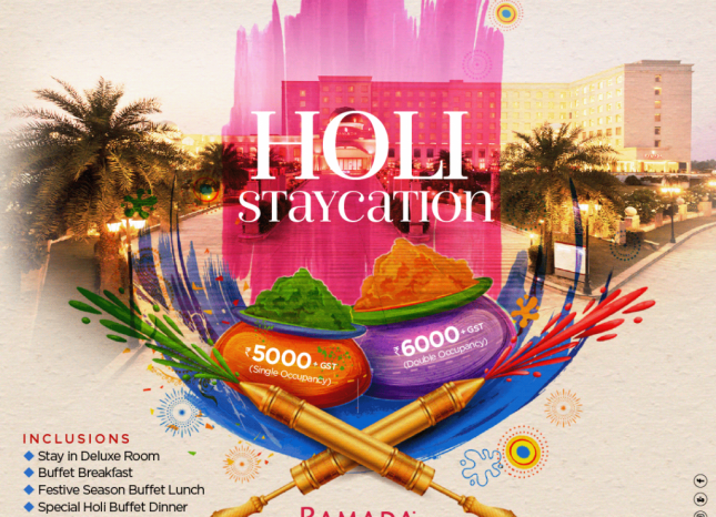Holi Stay Package in Lucknow An awesome Staycation this Holi 2021