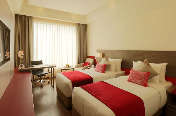 Twin-Room-Accommodation-Lucknow-Business-Hotel-Lucknow