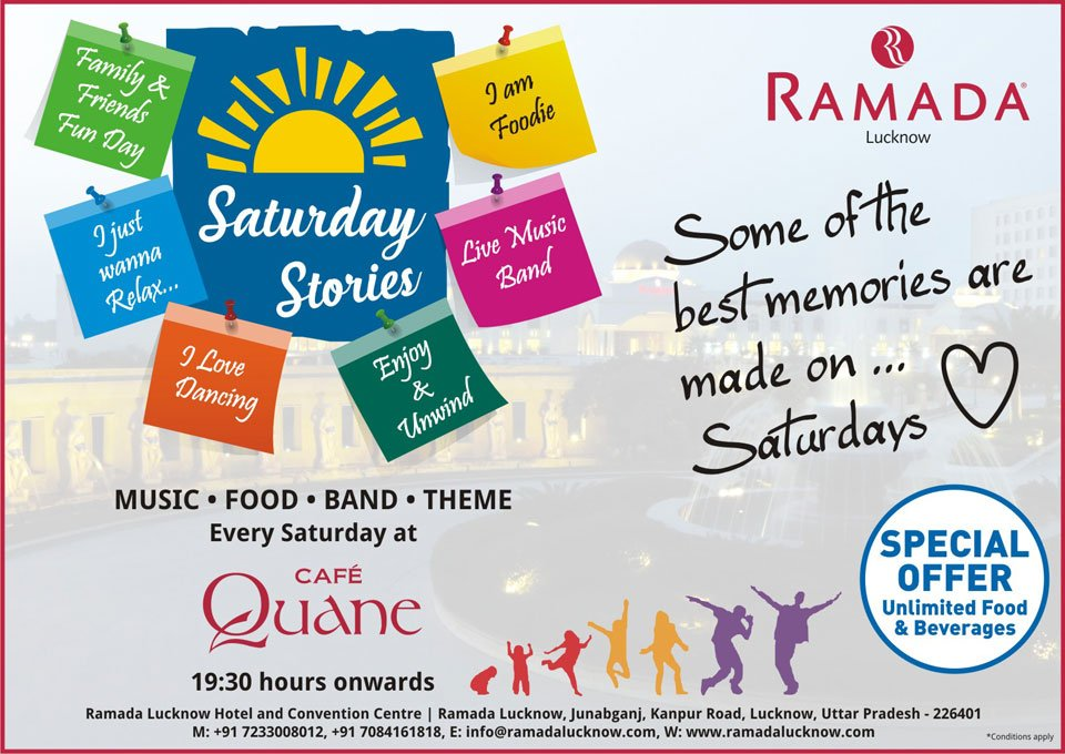 Ramada-Lucknow-Saturday-Stories-April-2017-Events-Offers
