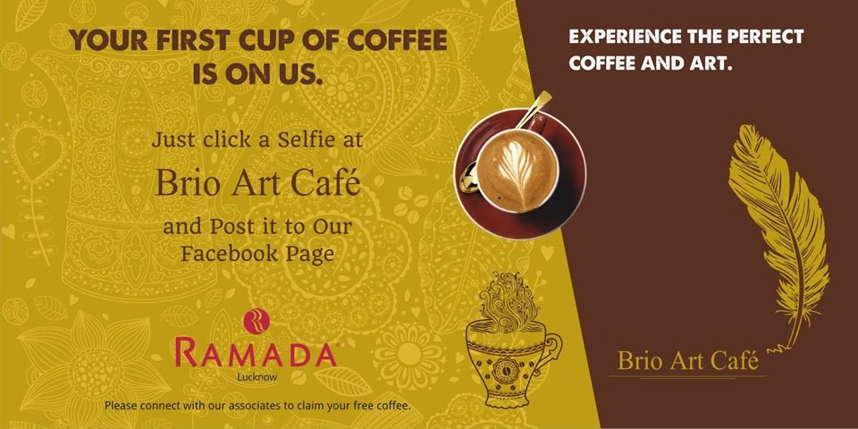 The-Selfie-Coffee--Art-Offer-at-Brio-Art-Cafe-Ramada-Lucknow-March-2017