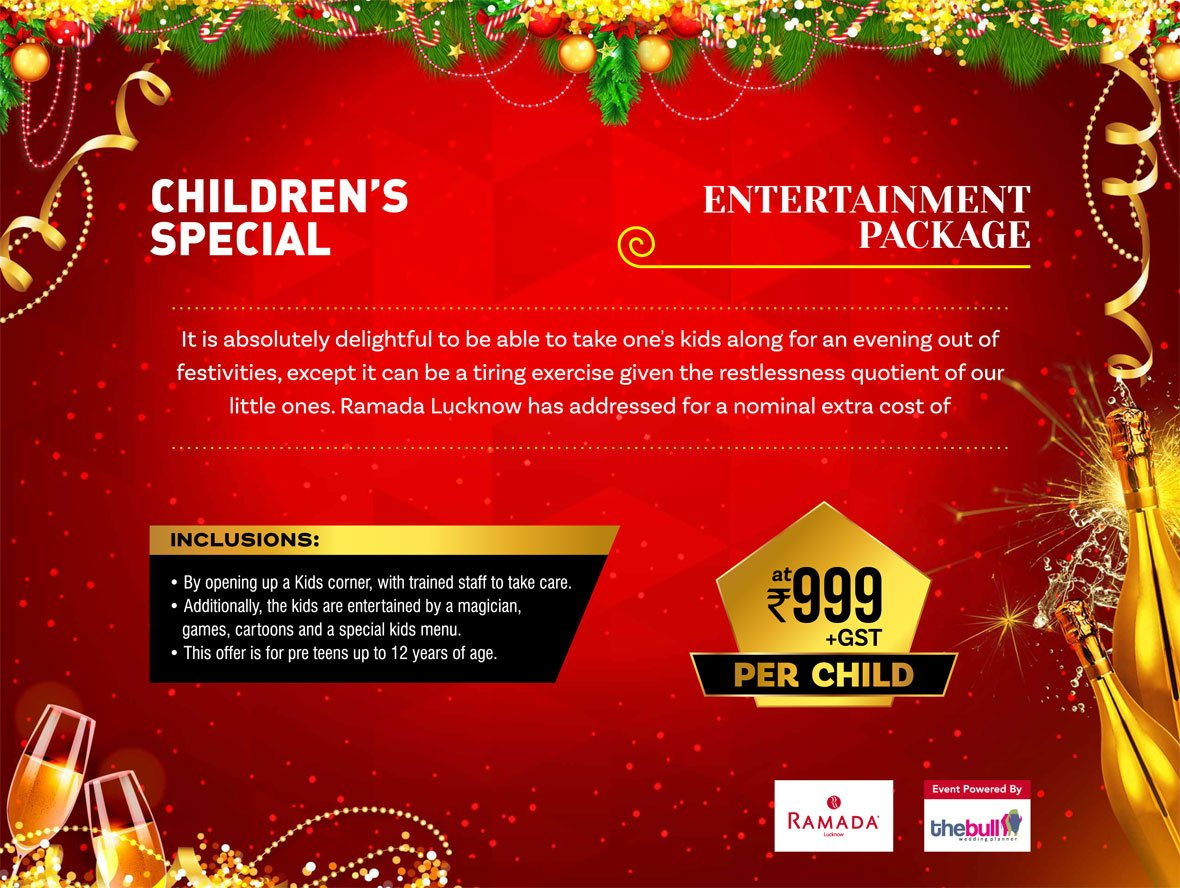The Best New Year Eve Party in Lucknow | Choose from 5 Party Options !