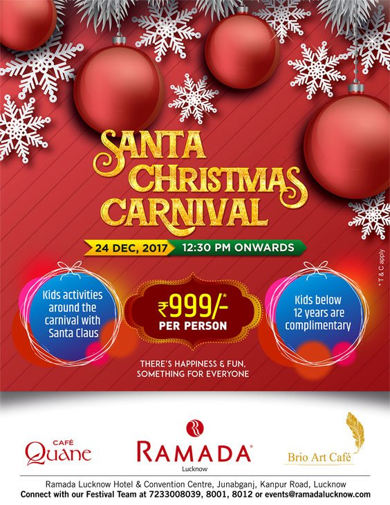 Christmas-Carnival-Brunch-Lucknow-Ramada-Lucknow