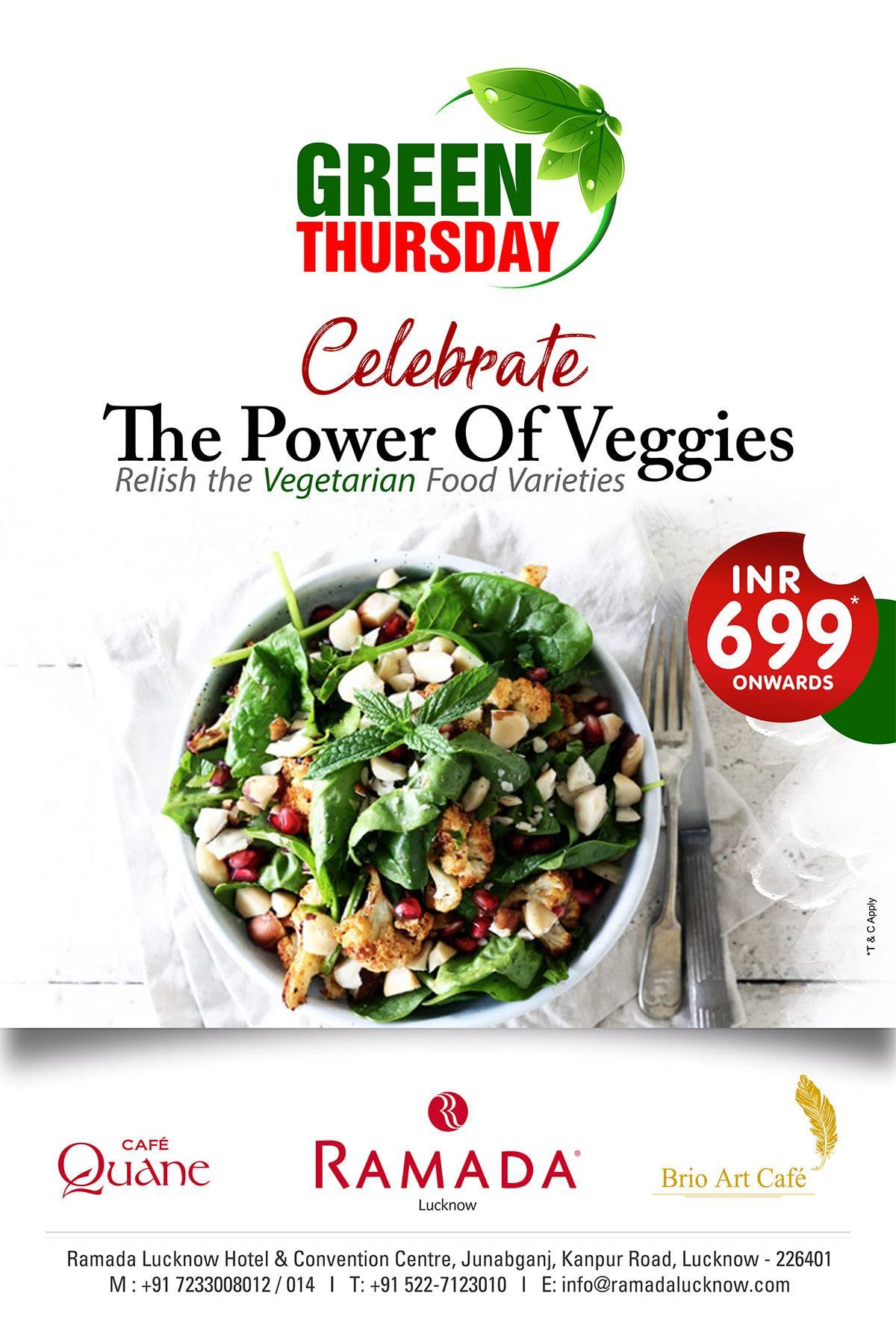Lucknow's Best Vegetarian Buffet at Ramada Lucknow