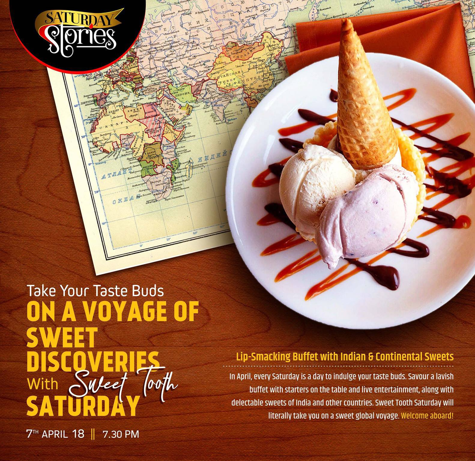 Sweet Tooth Saturdays Weekend Dining Ramada Lucknow