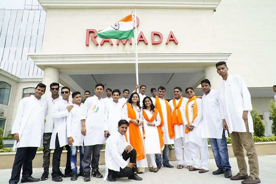 The-72nd-Independence-Day-Celebrations-at-Ramada-Lucknow-2
