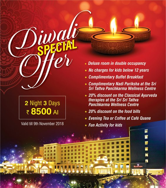 Ramada-Lucknow---Diwali-Room-Offer-Package