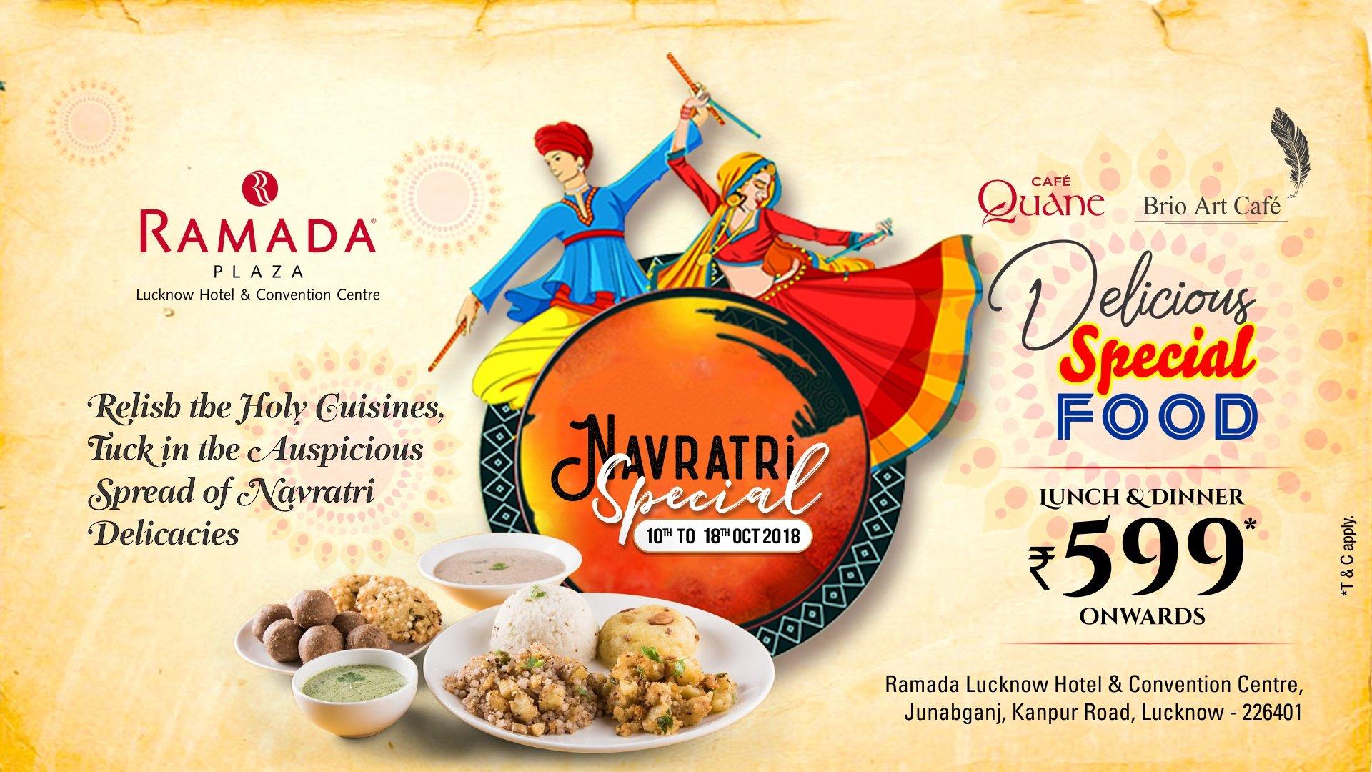 Ramada Lucknow - Navratri Special -