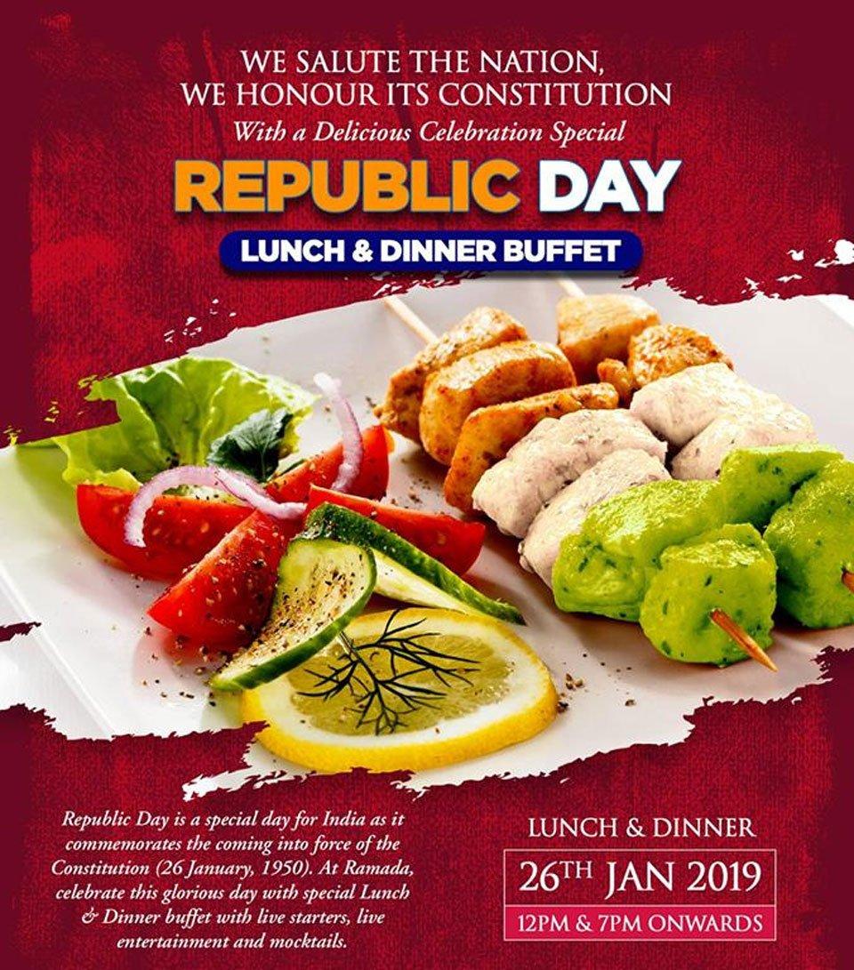Republic-Day-2019-Lunch-Dinner-Buffet-Lucknow-Ramada-Lucknow