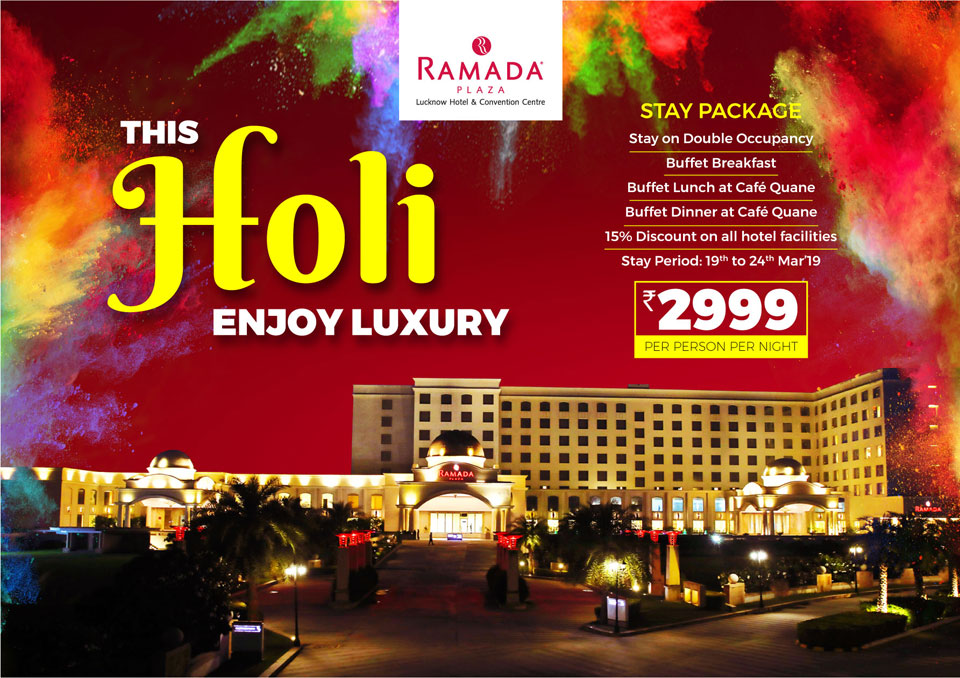 Holi-Stay-Package-in-Lucknow-Ramada-Lucknow
