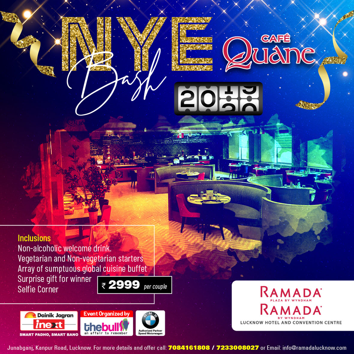 Cafe-Quane-New-year-party-Lucknow-2020