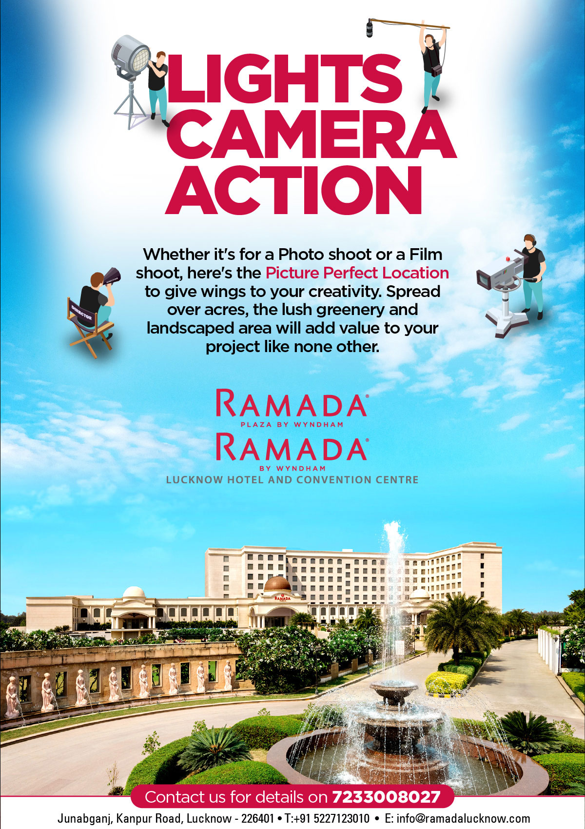 Film-Shoot-Location-in-Lucknow-Ramada-Lucknow-hotel