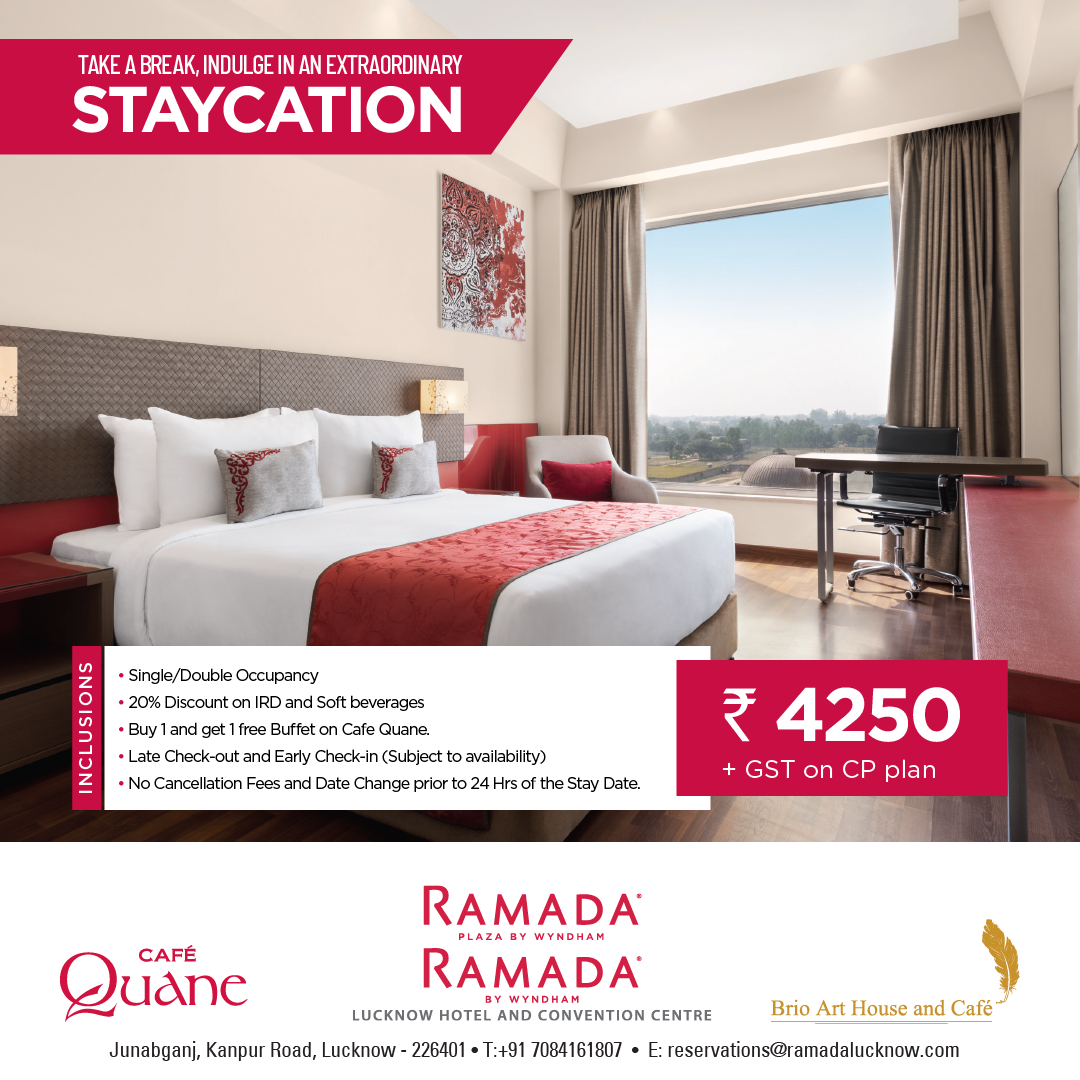 Staycation in Lucknow