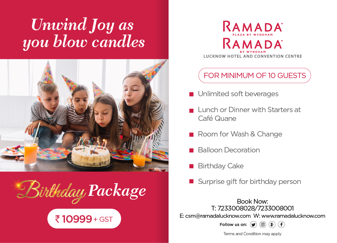Birthday Package Offer Lucknow
