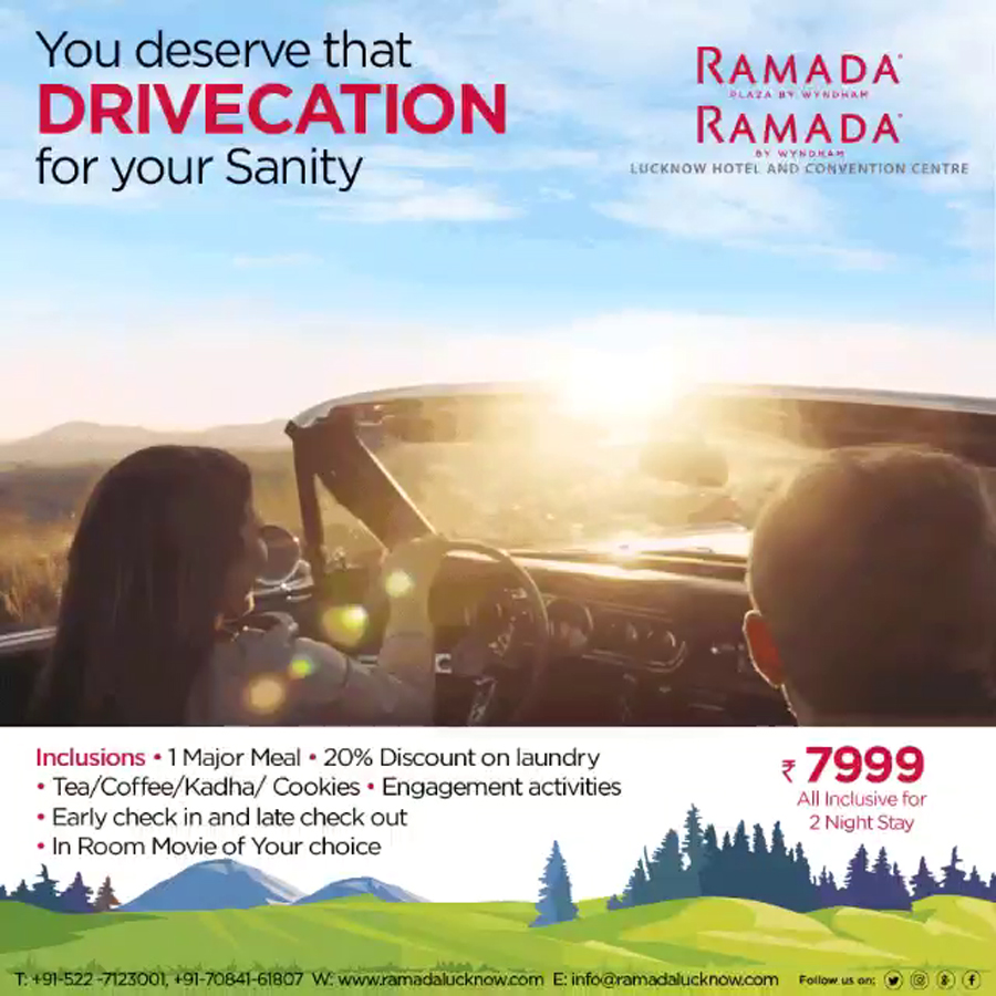 Drivecation-Offer-Lucknow-Ramada-Lucknow