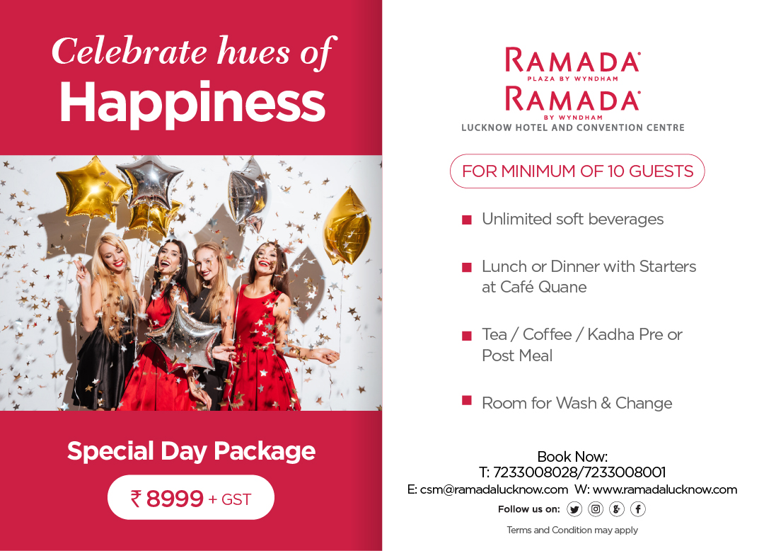 Special day Package Offer Lucknow